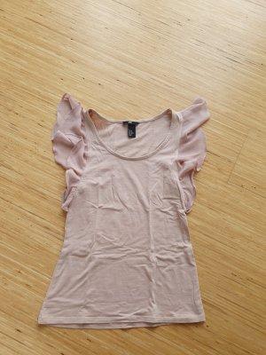 H&M Koszulka z dekoltem woda Wielokolorowy