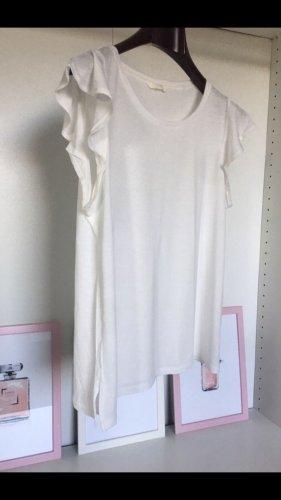 Shirt mit Rüschenärmelchen
