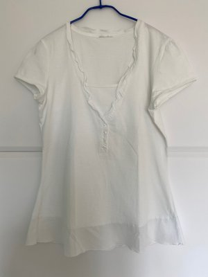 Shirt mit Rüschendetails & Knopfleiste