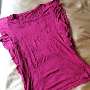 Shirt mit Rüschenoptik