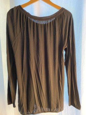 Esprit Boatneck Shirt black cotton