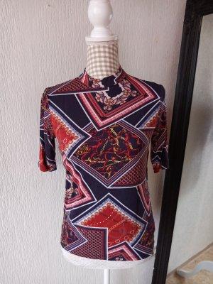 Mohito Print Shirt dark blue