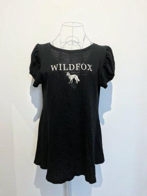 Wildfox T-shirt nero-bianco