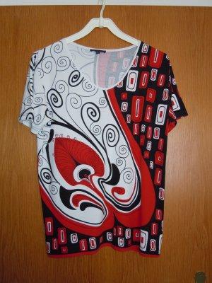 Shirt mit schönem Ornament-Druck  Gr. 44