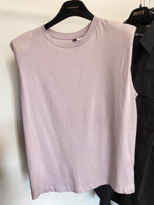H&M Divided Muscle Shirt mauve