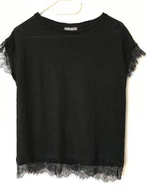 Shirt mit Spitze von Zara