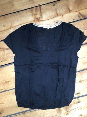 Shirt mit Spitzeneinsatz von Tom Tailor
