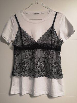 Cherry T-Shirt white-black