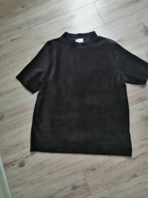 Infinity Chemise côtelée noir
