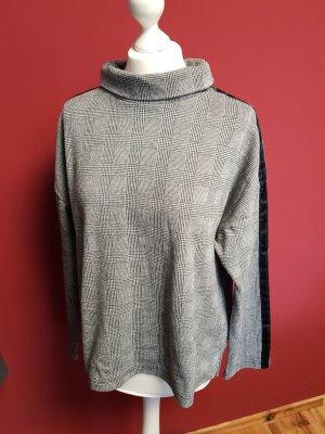Opus Camisa de cuello de tortuga gris-negro Poliéster