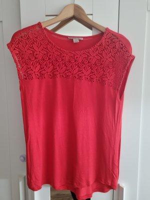 Anna Field Bluzka o kroju koszulki czerwony
