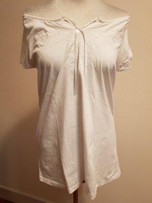 Camisa tipo Carmen blanco Algodón