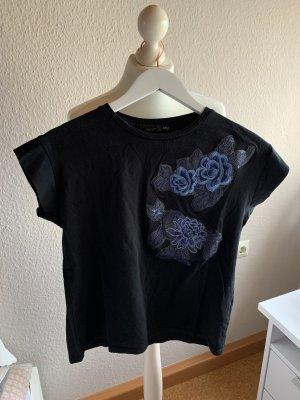 Shirt mit Stickerei Zara