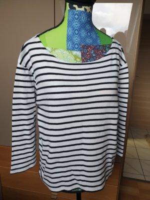 Stripe Shirt white-black cotton