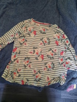 Shirt mit Streifen und Blumen