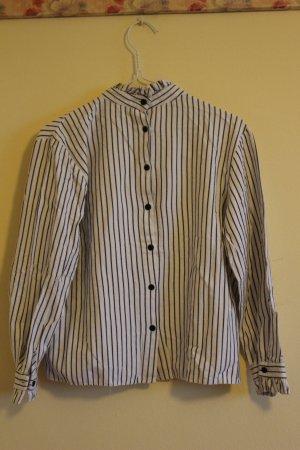 Shirt mit Streifenmuster Koreanisches Design
