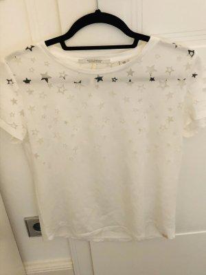 Shirt mit transparenten Sternen