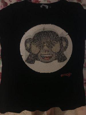 Shirt mit umdrehpailletten