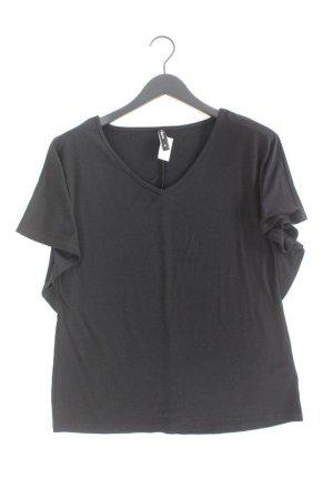 Shirt mit V-Ausschnitt Größe XL Kurzarm schwarz aus Polyester