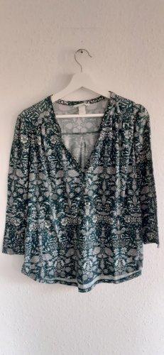 H&M Camicia a tunica multicolore