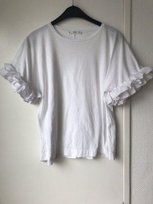 Shirt mit Volaintärmel