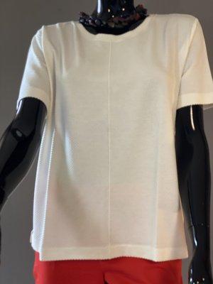Shirt mit Waffelmuster