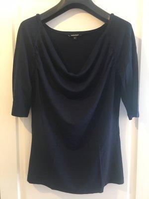 More & More Koszulka z dekoltem woda ciemnoniebieski