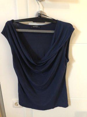 Orsay Top tipo cascada azul