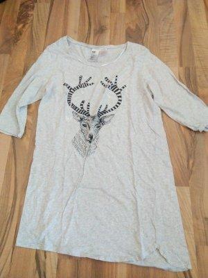 Shirt Nachtshirt Hirsch M - 38 ( Angabe S) Getragen Schräg