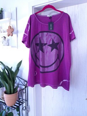 New Collection italy Top batik violet