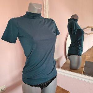 shirt neu von Orsay Rollkragenshirt Top XS grün waldgrün tannengrün