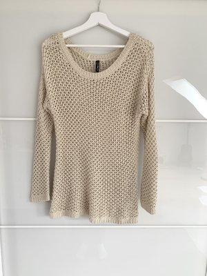 New Yorker Crochet Shirt natural white-cream