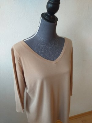 Marc Cain V-Neck Shirt light brown
