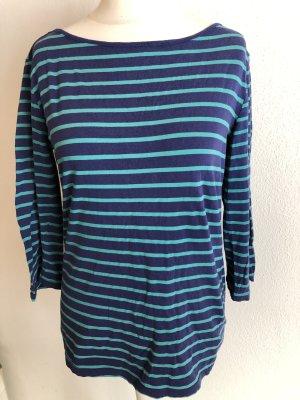 Shirt Oberteil Basic gestreift 3/4 Ärmel Gr. XL