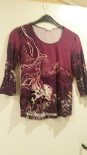 Koszulka typu batik Wielokolorowy Wiskoza