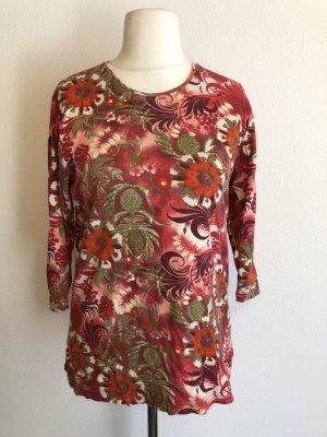 Shirt Oberteil bunt gemustert Baumwolle