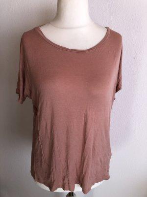 Shirt Oberteil locker altrosa  Gr. L