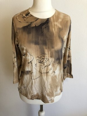 Shirt Oberteil locker beige Gr. M