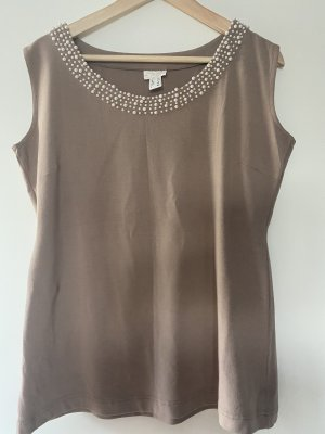 Shirt oberteil Perle nude XL 42 Apart