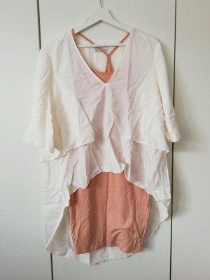 Shirt Offwhite Vokuhila Blogger Volant