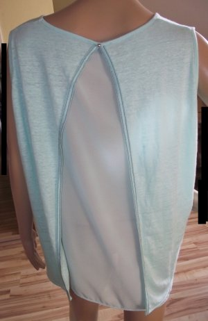Charles Vögele Shirt Tunic light blue