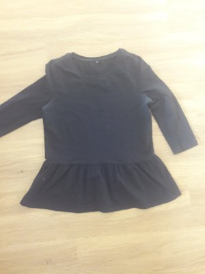 Only Peplum Top black