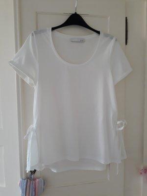Shirt Oui wollweiß Gr. 36 seitl. Bindung