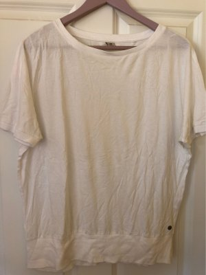 17&co Top extra-large blanc