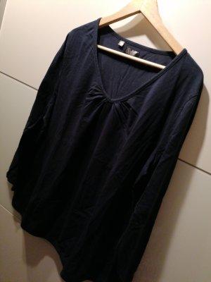 Shirt Oversized dunkelblau