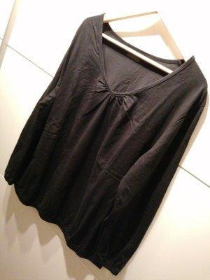 Shirt Oversized schwarz