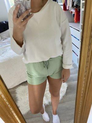 Shirt oversized weiß Pullover