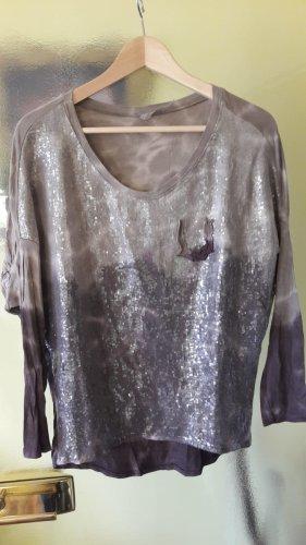 keine Koszulka typu batik brązowy-beżowy