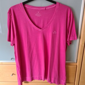 Gant T-shirt rosso lampone