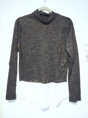 shirt Pullover im Lagen-Look